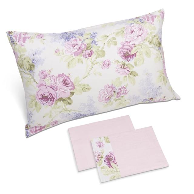 completo lenzuola sanderson c lilla rosa perla