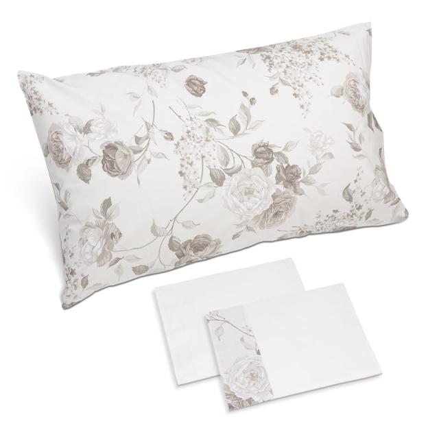 completo lenzuola sanderson b fango bianco naturale